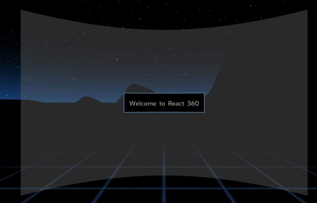 React 360 example