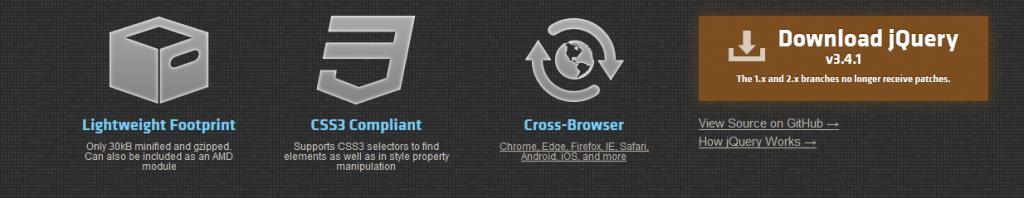 jQuery.com sitesi