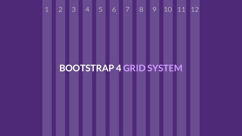 bootstrap 4 grid sistemi