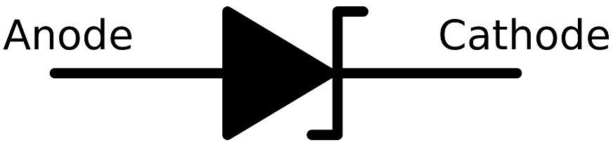 zener diyot sembolü