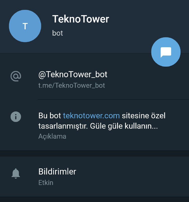 telegram botu