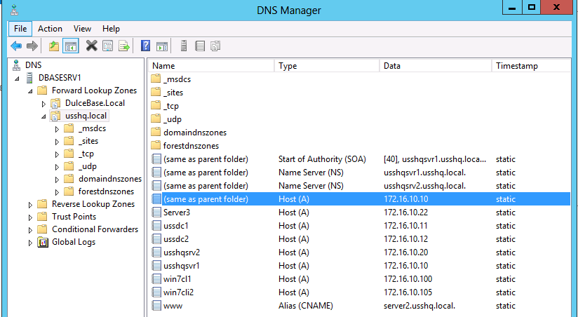 windows server dns teknotower