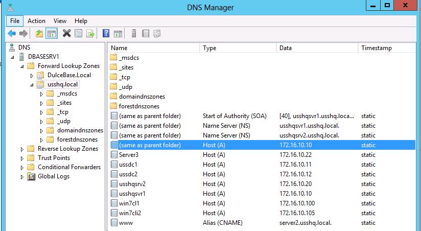 windows server dns teknotower
