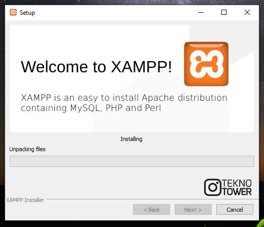 veritabanı dersleri XAMPP kurulumu 3. adım