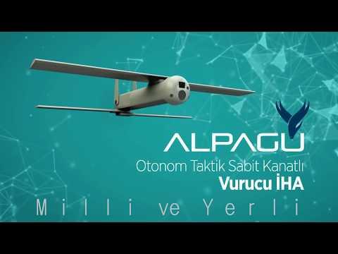 alpagu drone suriyede kullanılan yerli ve milli teknotower