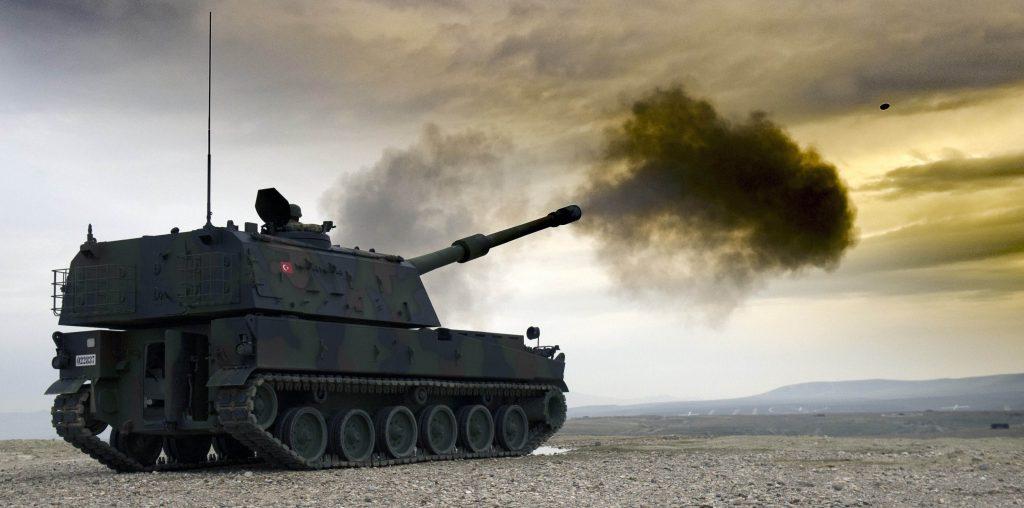 t-155 firtina obusu suriyede kullanılan yerli ve milli