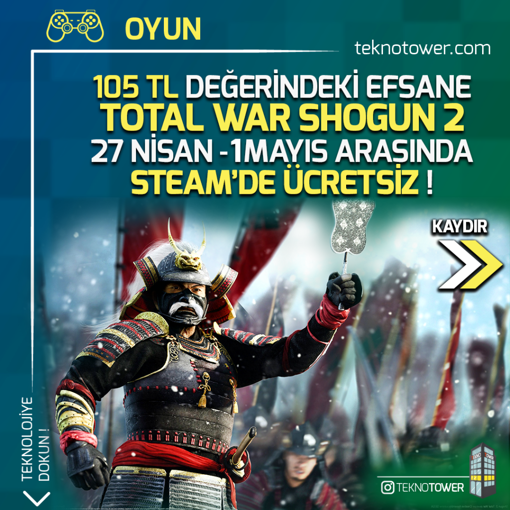 Total War Shogun 2 Türkçe Yama %100 | Steam ve TÜM DLC 1 total war shogun 2 turkce yama