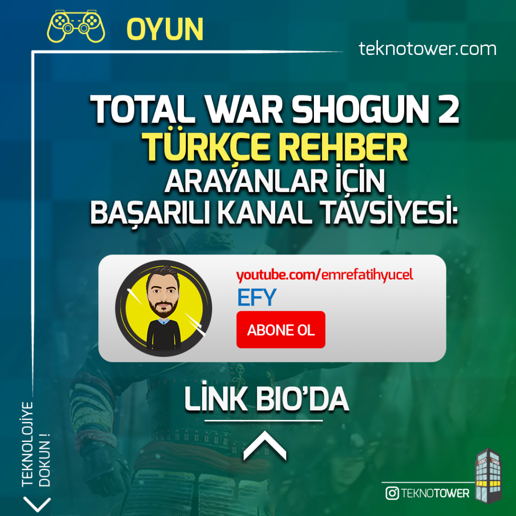 Total War Shogun 2 Türkçe Yama %100 | Steam ve TÜM DLC 2 total war shogun 2 turkce yama