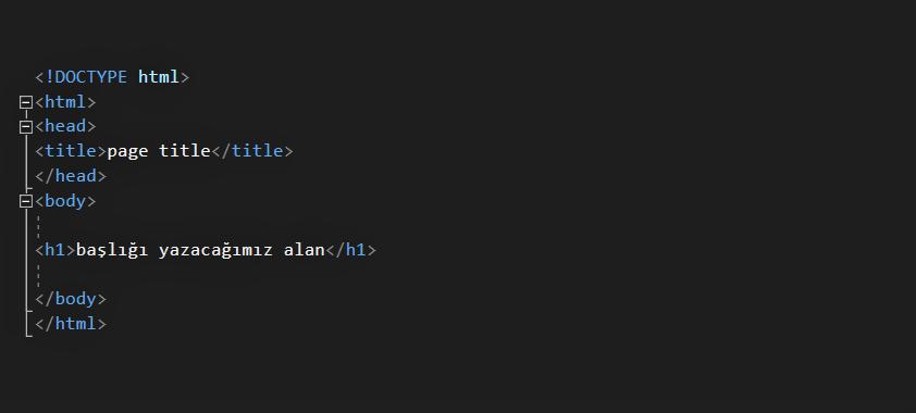 HTML DERSLERİ #1 5 HTML DERSLERİ