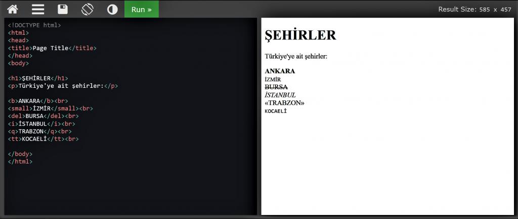 HTML DERSLERİ #2-yazı stilleri