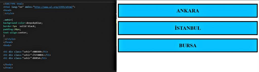 HTML DERSLERİ 6 1 HTML DERSLERİ 6
