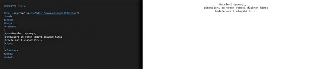 HTML DERSLERİ 5 7 HTML DERSLERİ 5