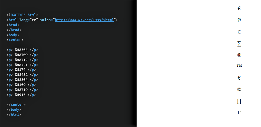 HTML DERSLERİ 7 5 HTML DERSLERİ 7