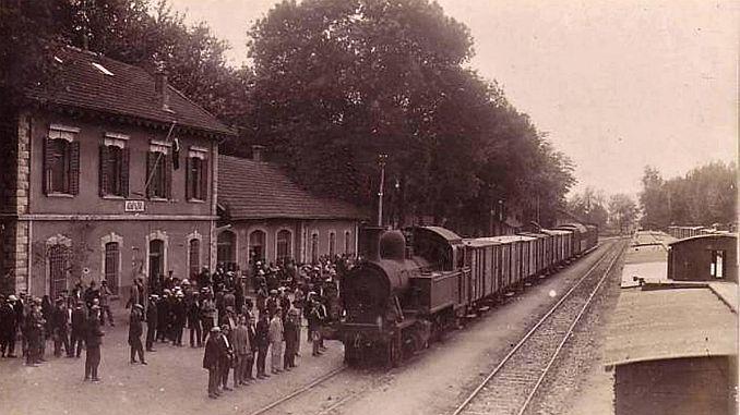 Osmanlı İmparatorluğunda Tren