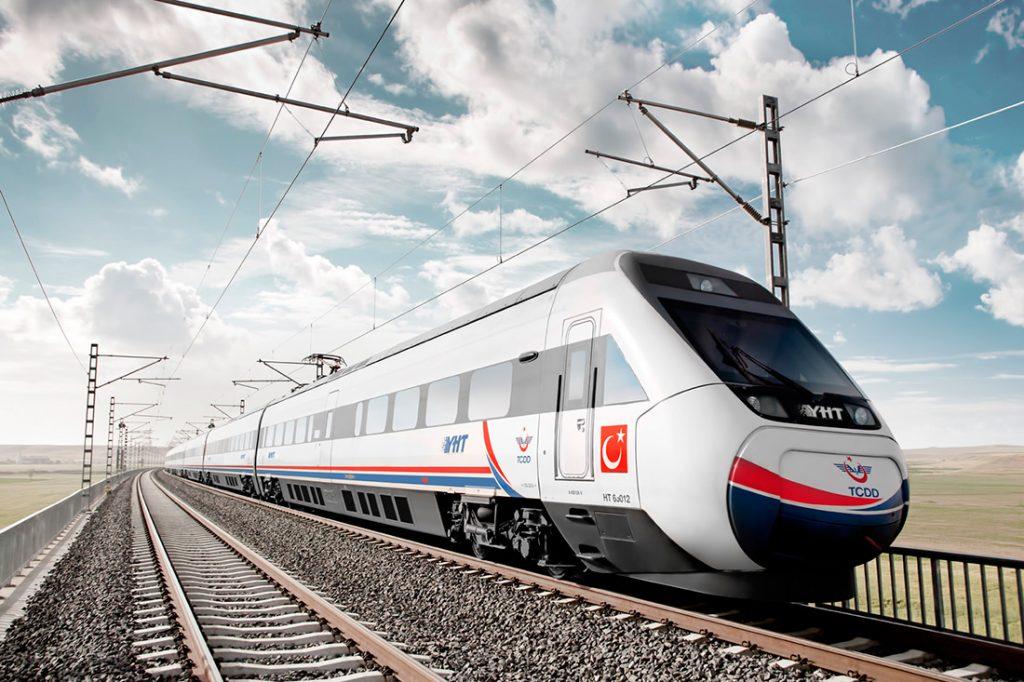 MİLLİ ELEKTRİKLİ TREN SETİ PROJESİ 8 tren
