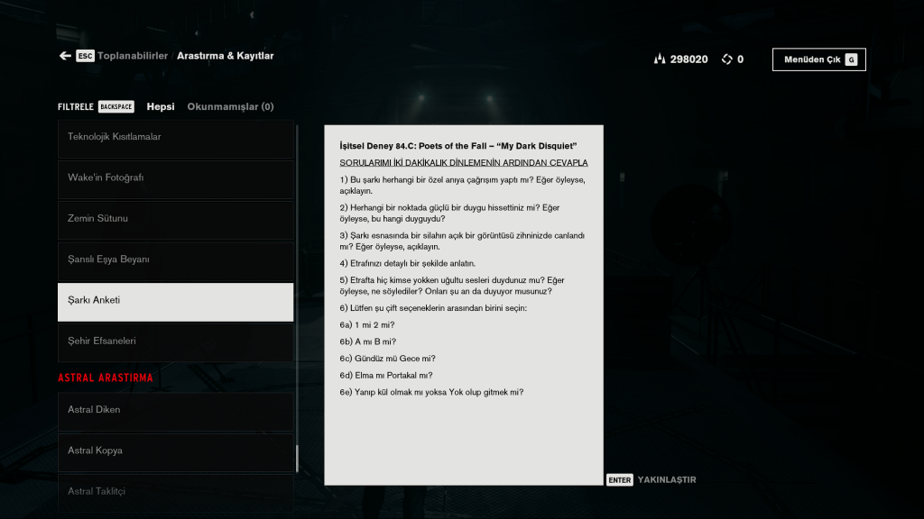 Control Türkçe Yama - Epic ve Steam Uyumlu 2021 3 control türkçe yama
